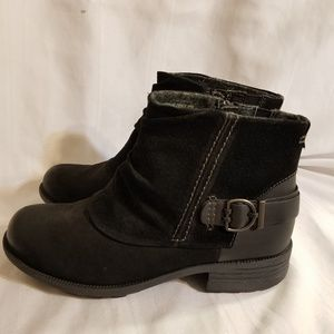 Earth Origins Black Paige Boots SZ 9.5W